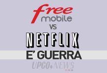 Free Mobile contro Netflix