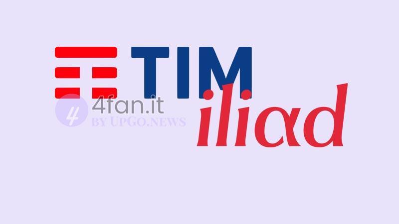 confronto TIM - Iliad Italia