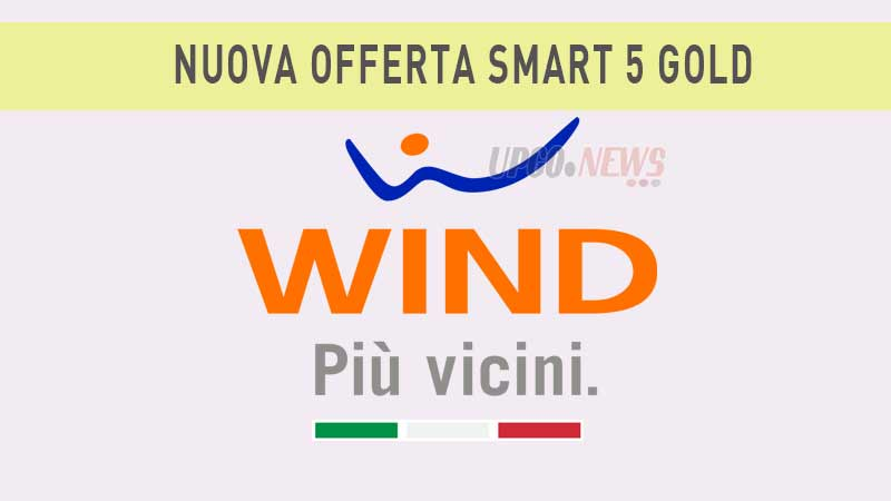 Wind nuova offerta Smart 5 Gold