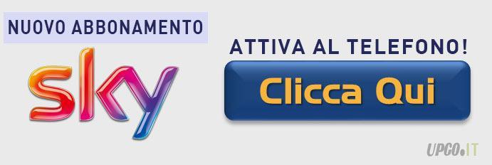 Attivazione Nuovo abbonamento Sky Calcio