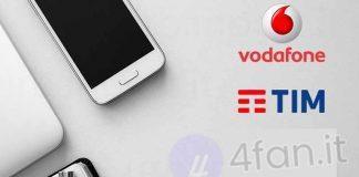 Offerte Tim vs Vodafone ad agosto 2017