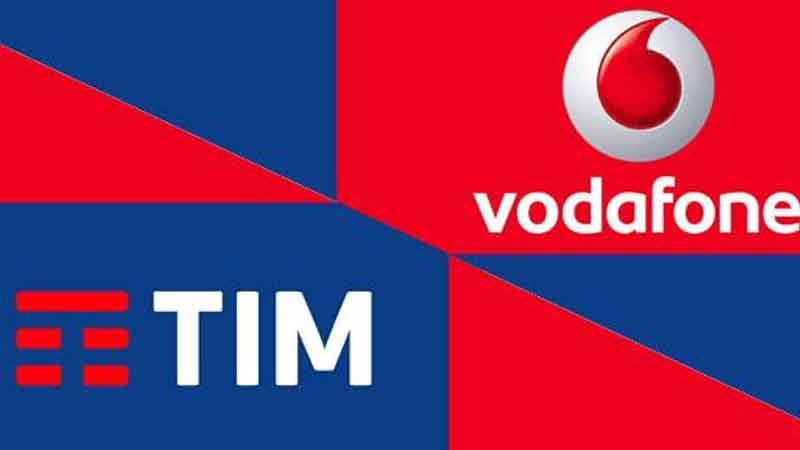 Tim Vodafone Kena Mobile e Vei
