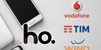 Ho Mobile Tim Wind 3 Vodafone
