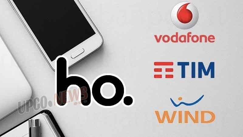 Ho Mobile Tim Wind 3 Vodafone