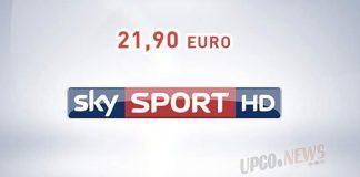 Sky Tv offerta 21,90 euro