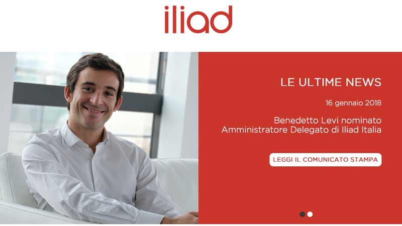 Iliad.it sito web