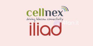 Accordo Cellnex Iliad