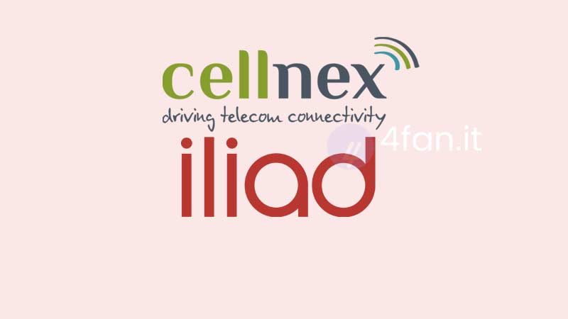 Accordo Cellnex Iliad