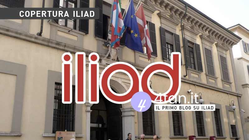 Iliad copertura a Novara