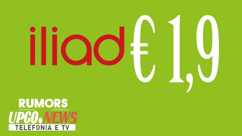 Iliad tariffa 1,99 euro
