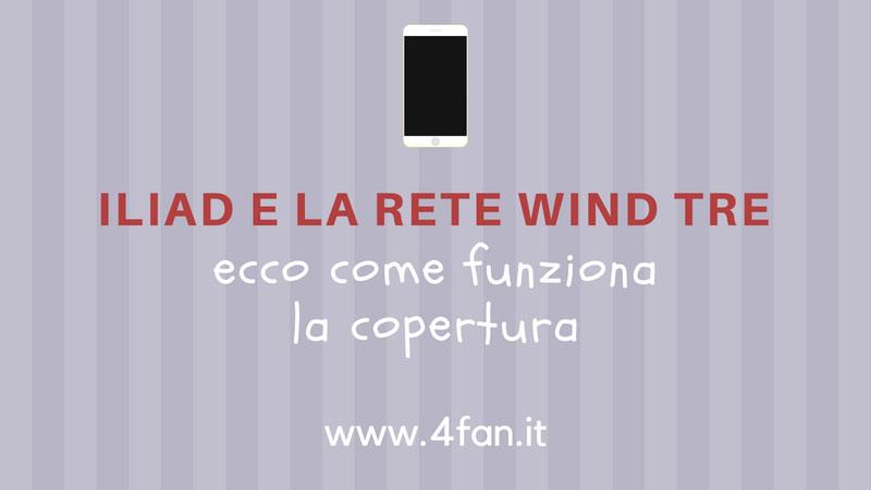 Iliad accordi con Wind Tre