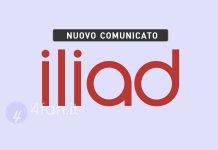 Iliad Comunicato