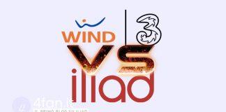 Wind Tre vs Iliad