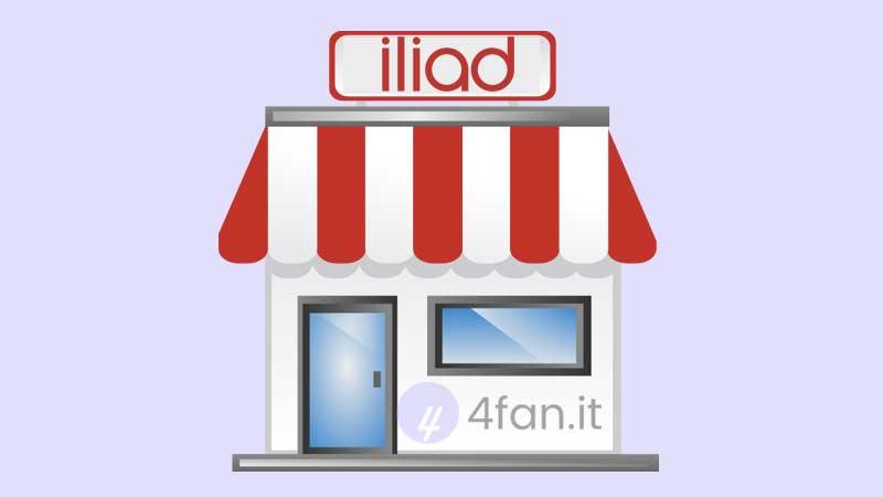 Iliad negozi aperture