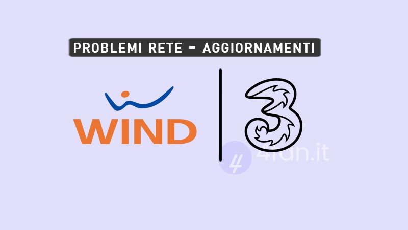 Wind Tre Problemi Rete