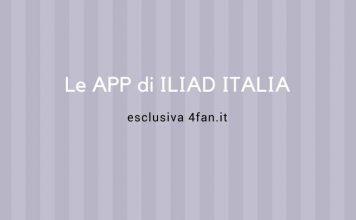 App di Iliad Italia