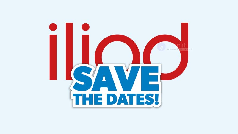 Iliad save the date