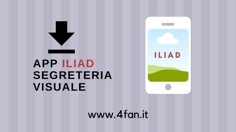 App Iliad Segreteria Visuale