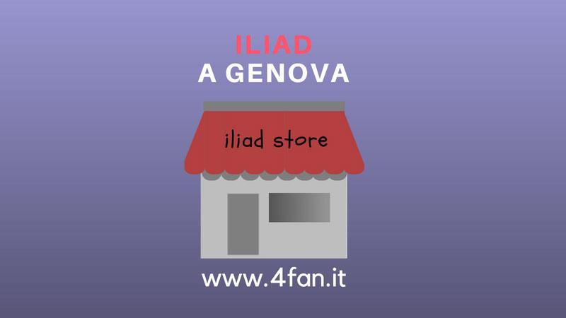 A Genova l' Iliad Store