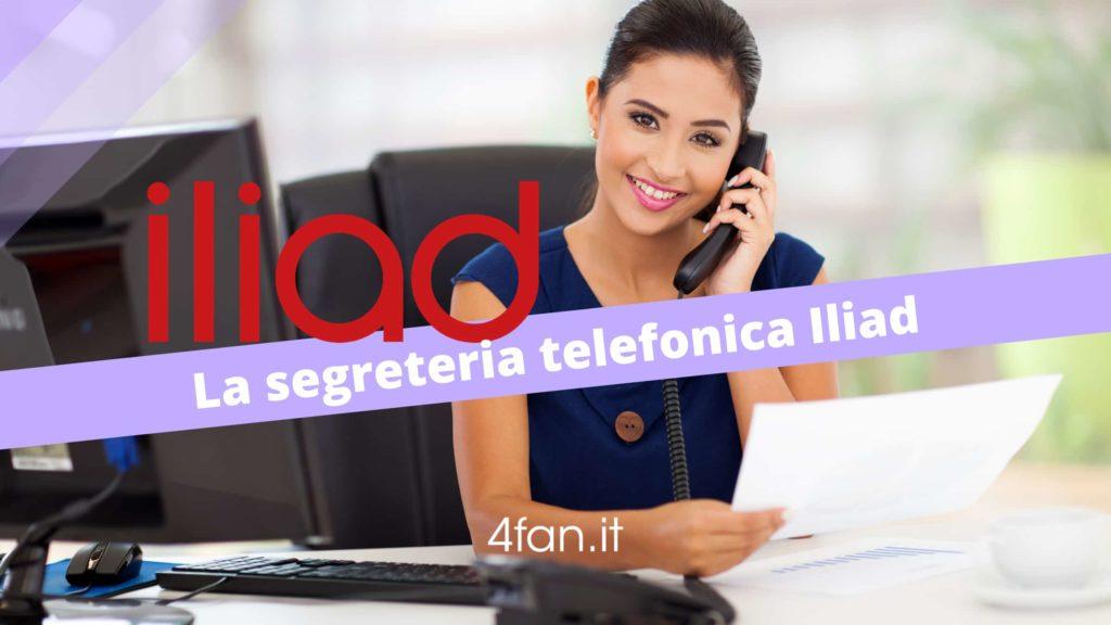 Segreteria Telefonica Iliad