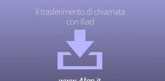 Trasferimento di chiamata con Iliad