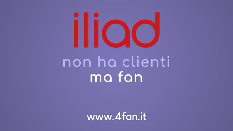 Iliad non ha clienti ma fan