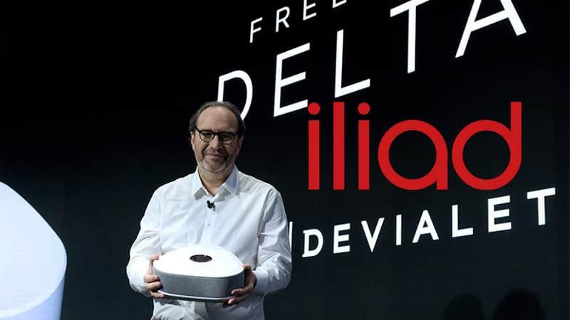 Iliad Freebox Delta