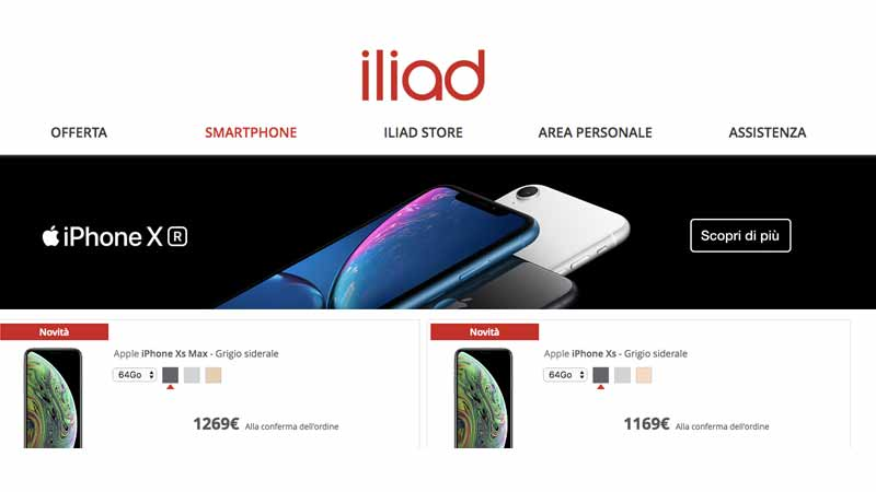 IPhone Iliad