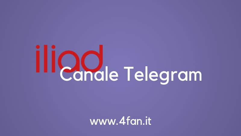Iliad Canale Telegram