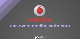 Vodafone senza credito