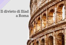 Divieto di Iliad a Roma