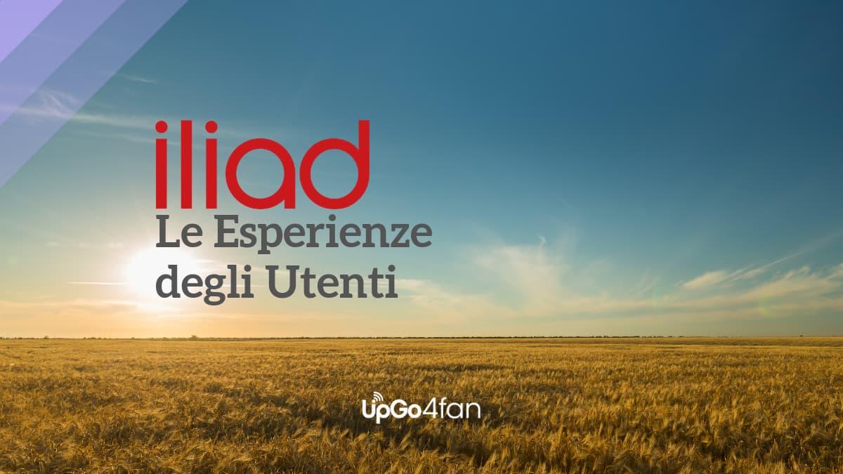 Le Esperienze degli utenti Iliad