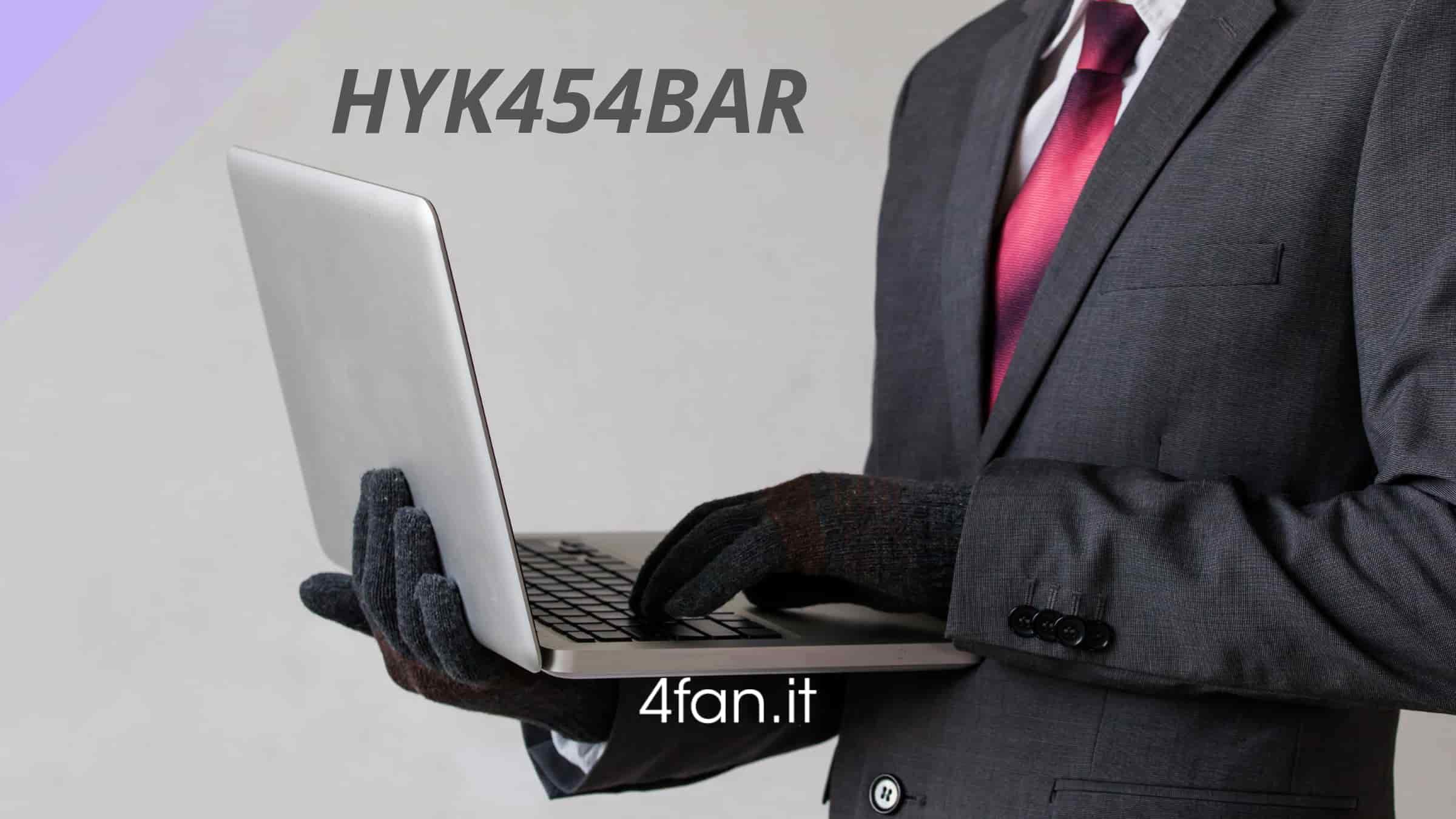 HYK454BAR truffa