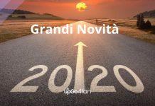 Grandi novità 2020