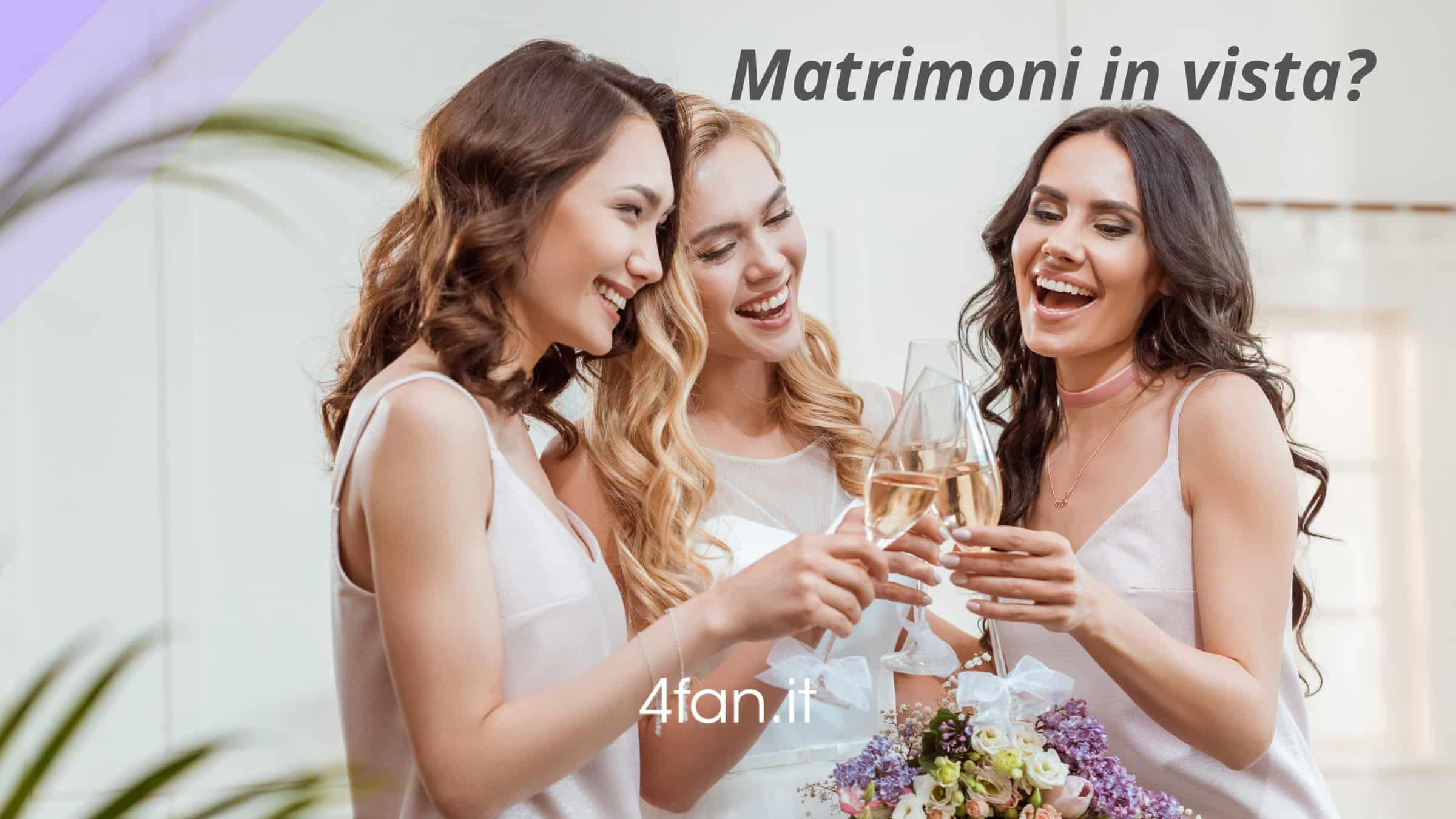 Matrimoni in vista. Copertina del post