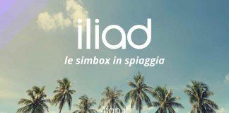 Simbox Iliad in spiaggia