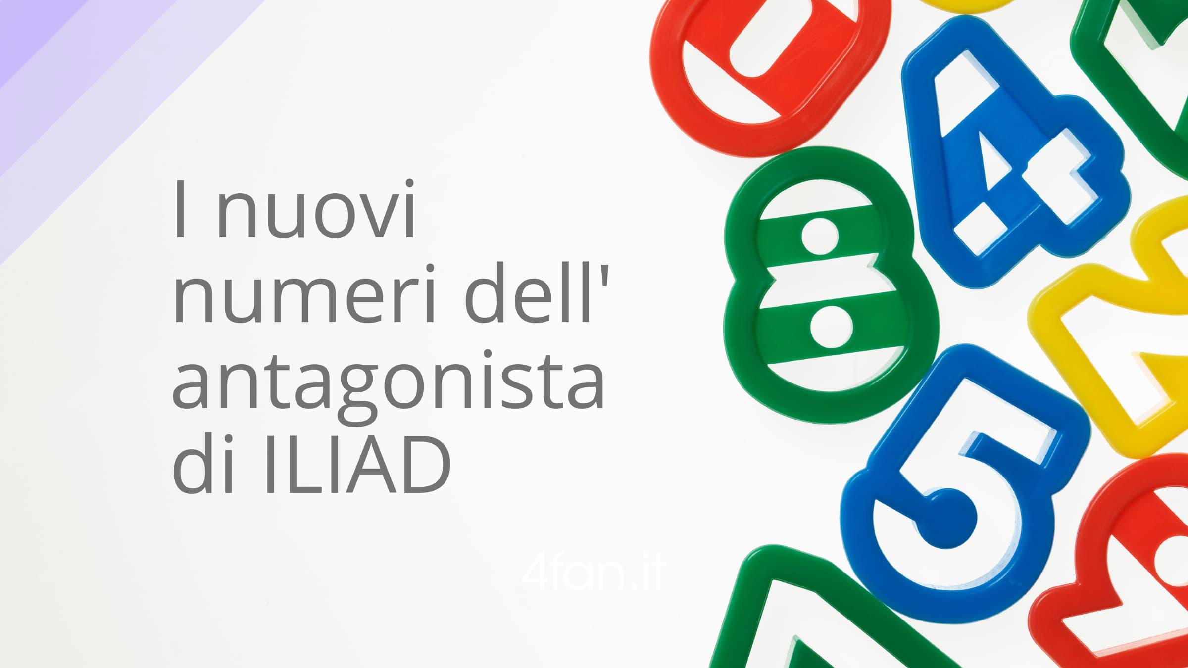 Numeri di Iliad e Ho Mobile