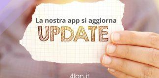 La nostra app si aggiorna
