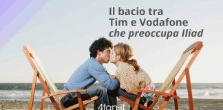 Bacio tra Tim e Vodafone