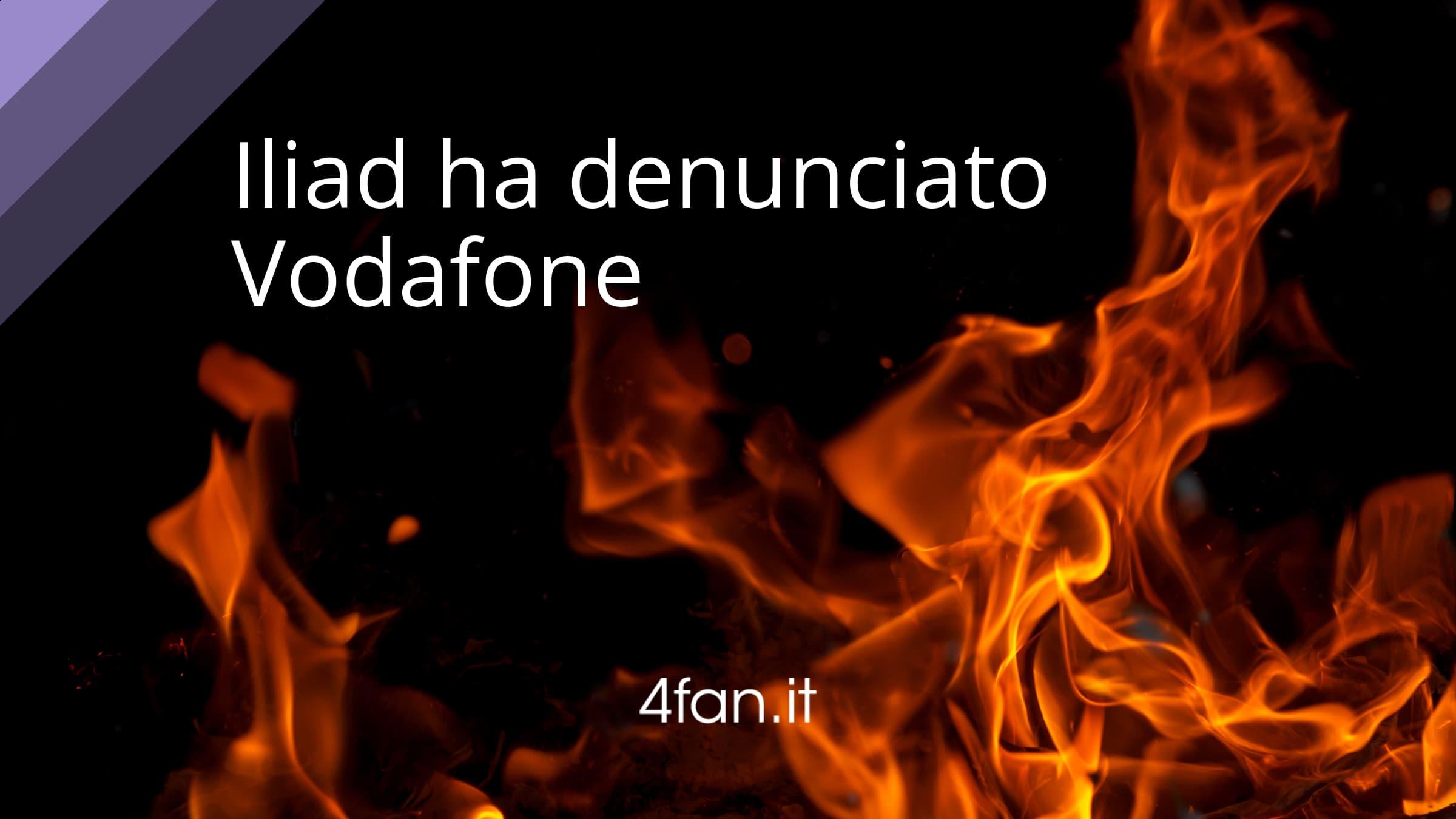Iliad ha denunciato Vodafone