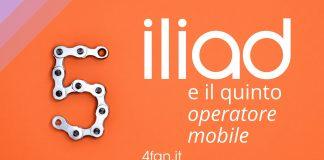 Iliad e il quinto operatore mobile