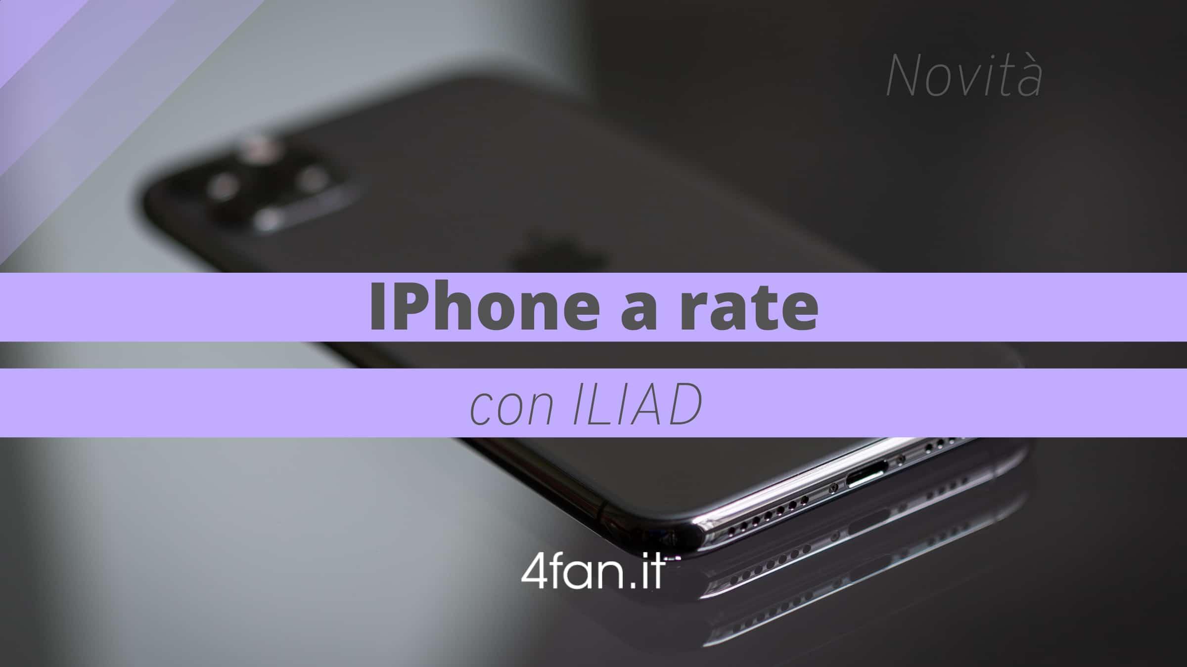IPhone con Iliad