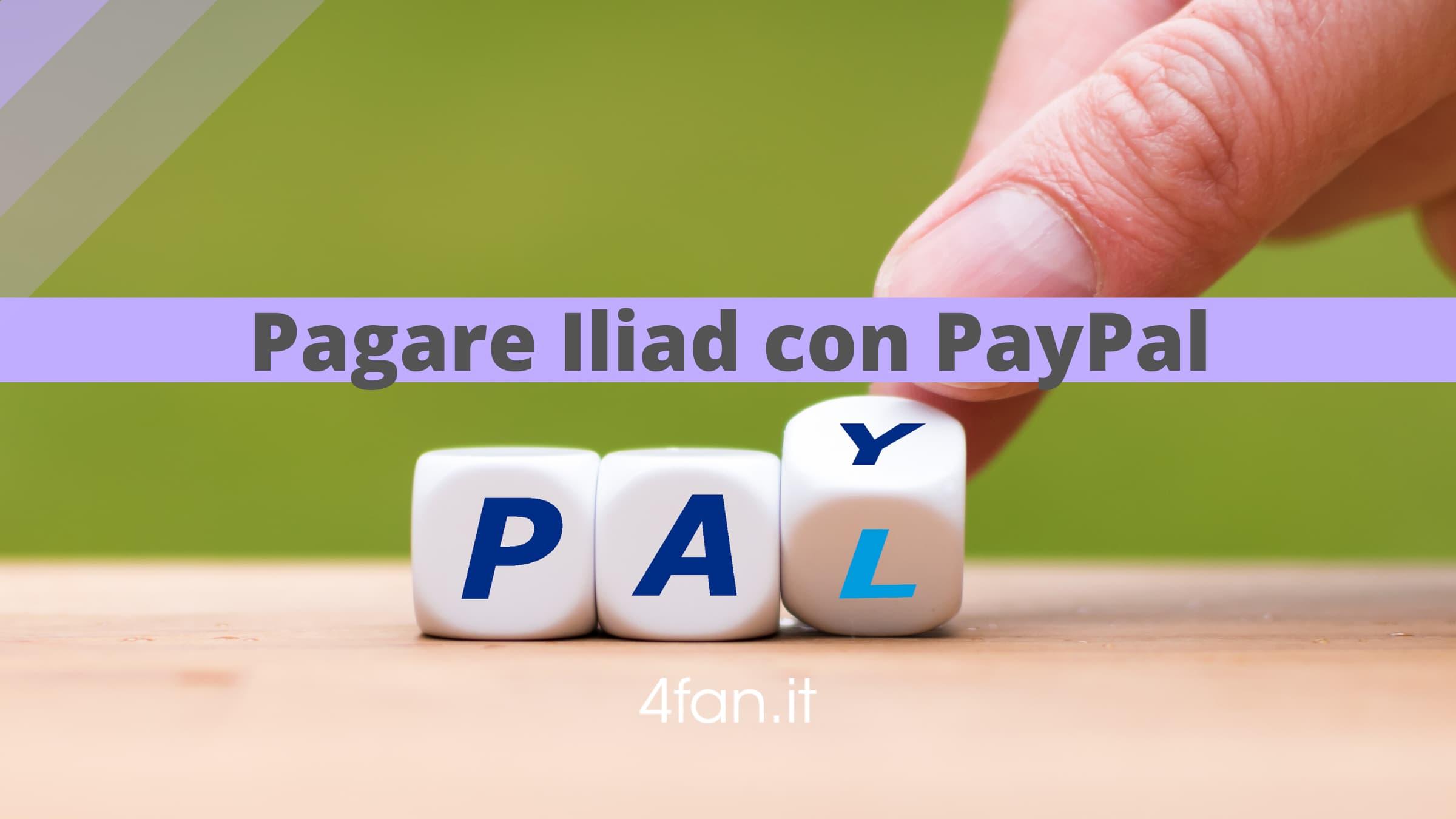 PayPal con Iliad