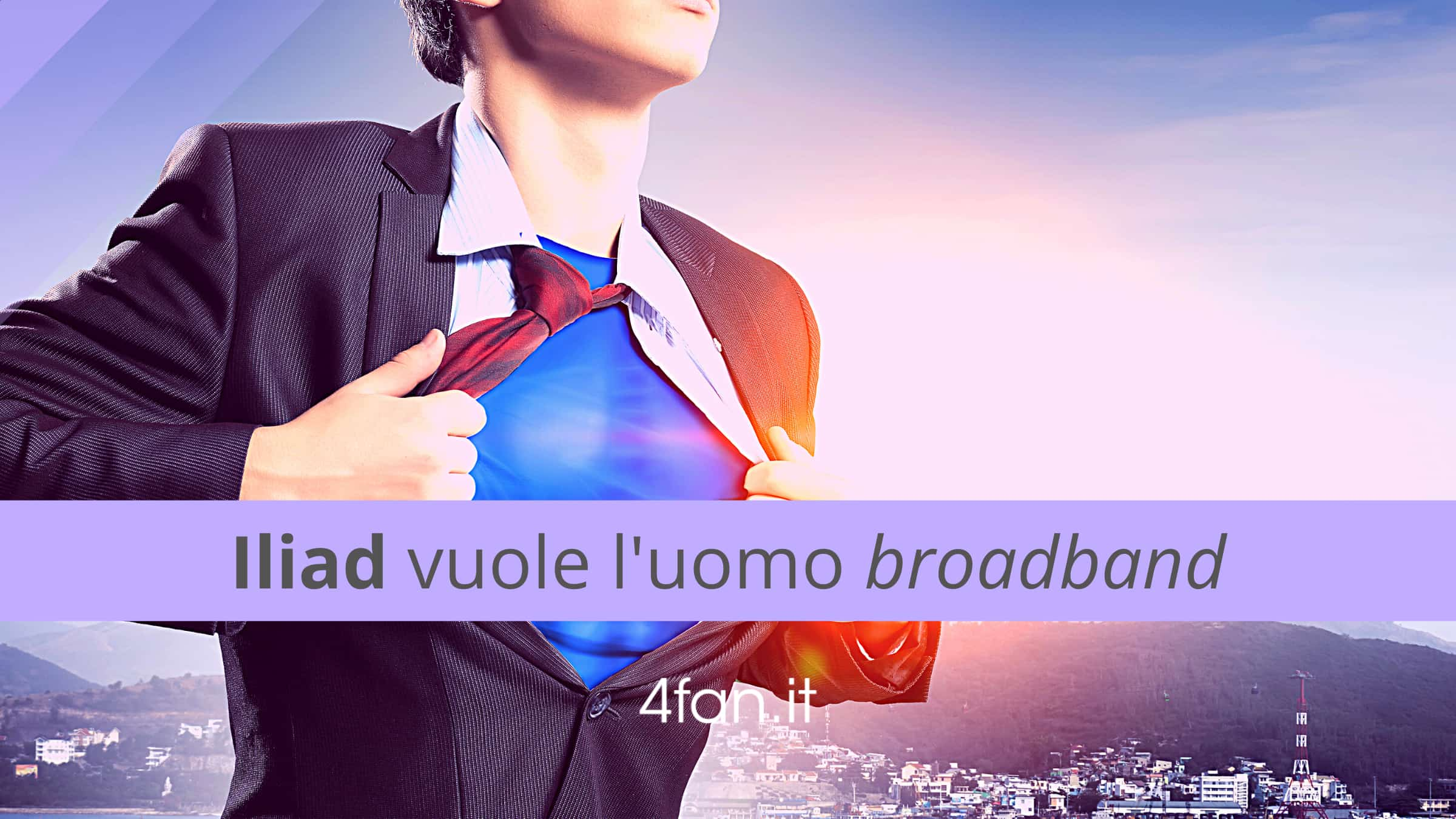 Iliad uomo broadband