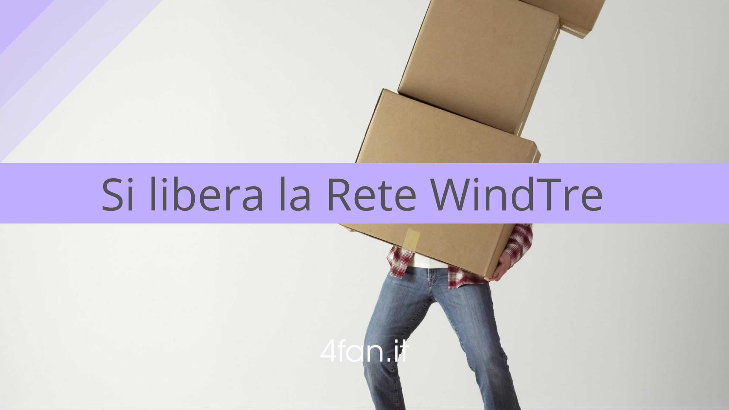 Rete WindTre rivoluzione PosteMobile