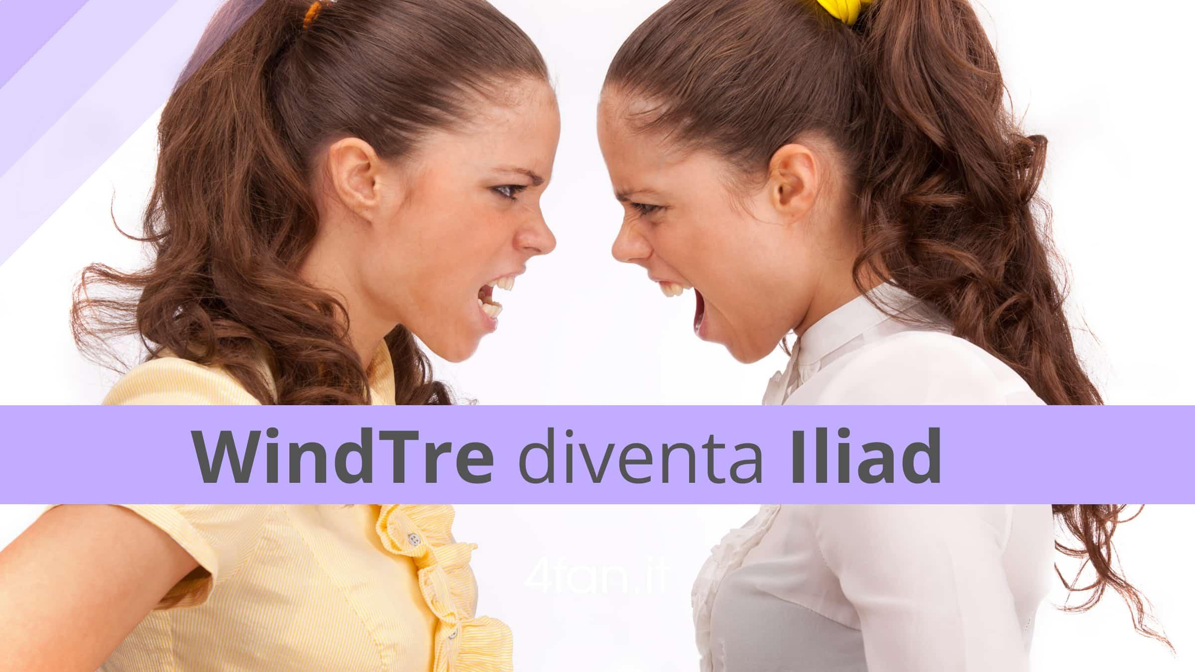 WindTre diventa Iliad