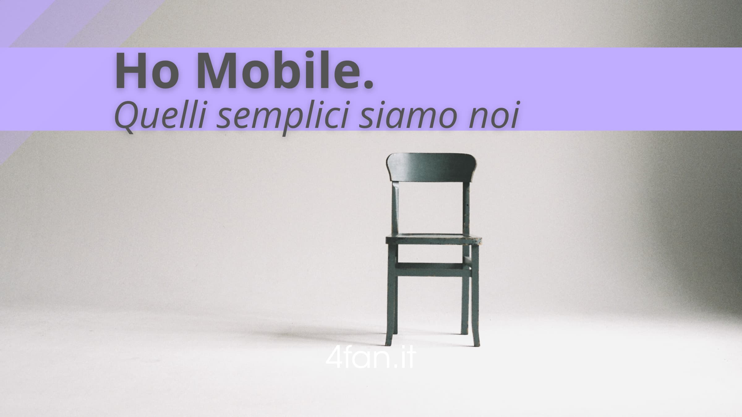 Ho Mobile semplici