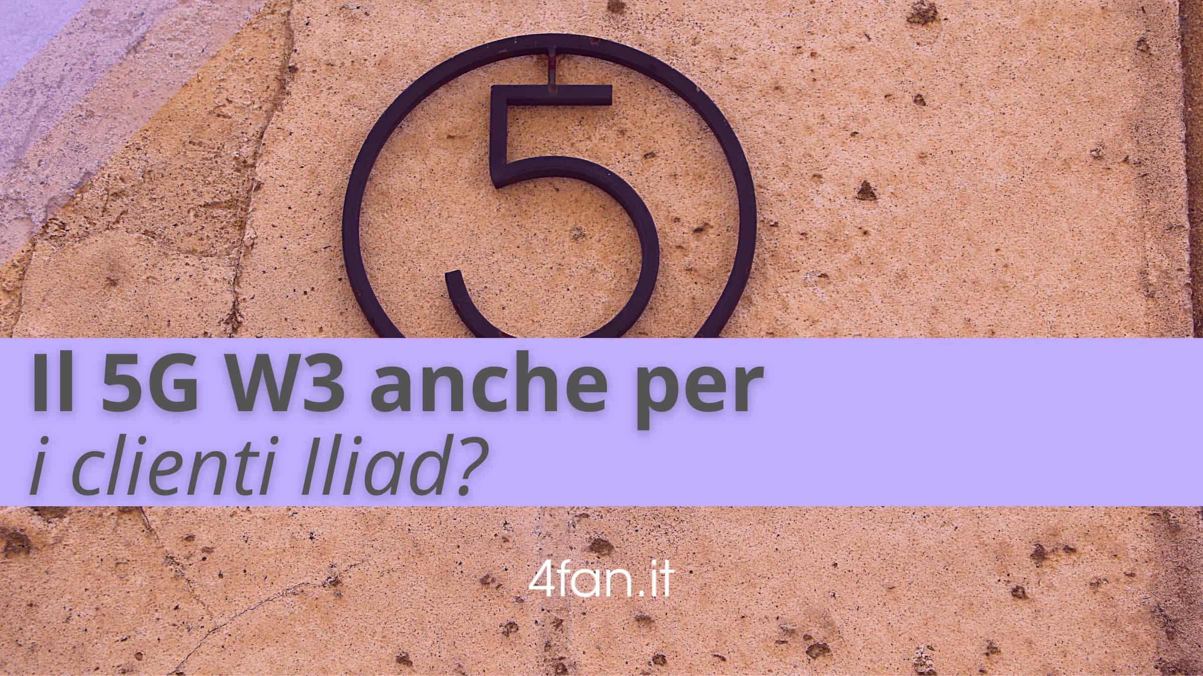 5g WindTre per clienti Iliad
