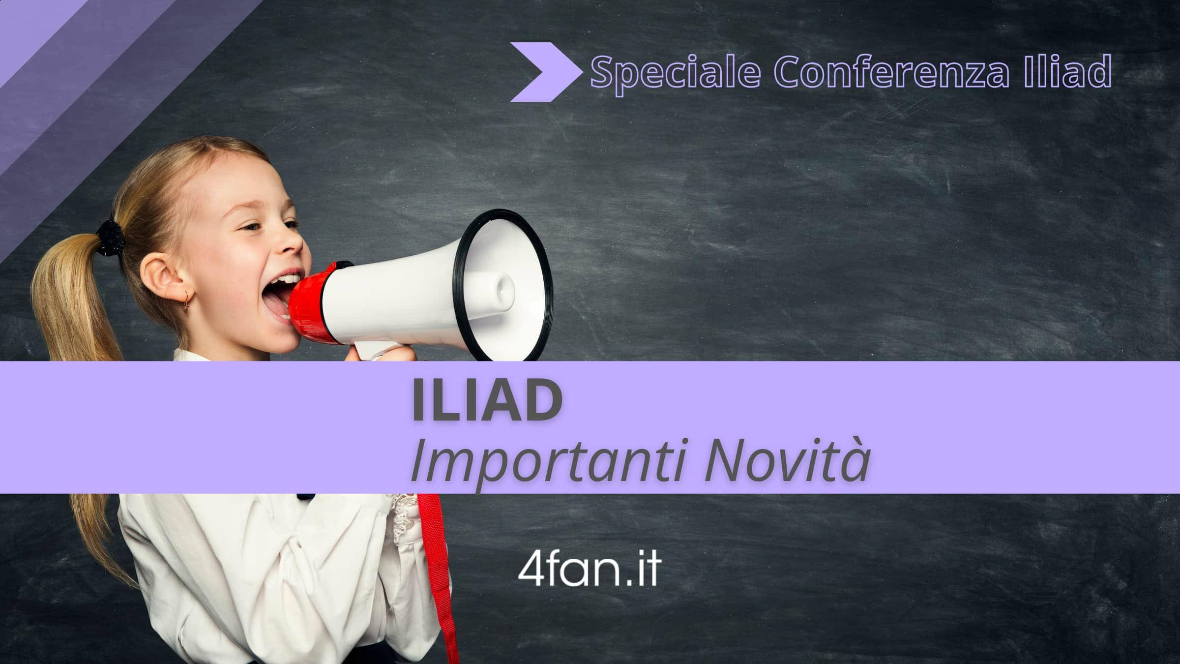 Iliad data telefonia fissa. Conferenza Iliad