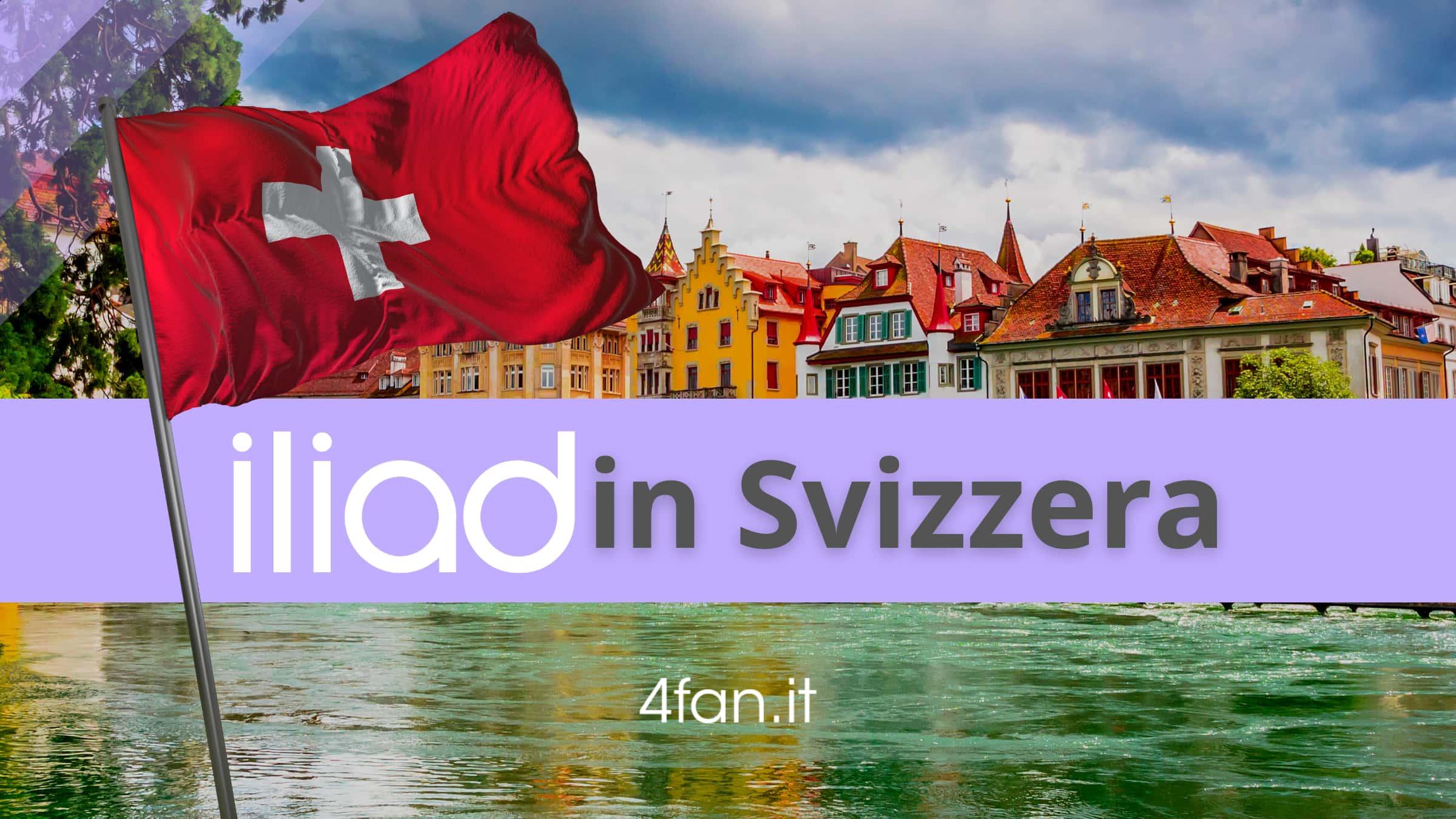 Iliad in Svizzera